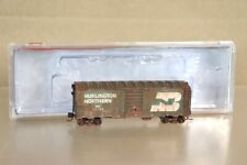 INTERMOUNTAIN 66019-10 WEATHERED BURLINGTON BN 40' BOX CAR WAGON 133780 nv