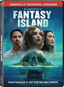 Blumhouse's Fantasy Island (DVD, 2020) - Unrated and Theatrical Versions