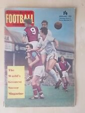 FOOTBALL MONTHLY MAGAZINE JANUARY 1961 - MIGHTY MEN OF TOTTENHAM