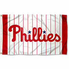 Philadelphia Phillies Pinstripes Flag