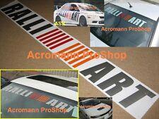 """36""""91.4cm RALLIART windshield decal sticker galant endeavor mirage 3000GT GSR GT"""