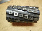 LOT C  PLANER CUTTER HEAD WITH CARBIDE INSERTS 1 1/2 ARBOR BORE