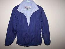 Columbia Womens Interchange Vertex Winter Coat Jacket Navy Blue Sz Small