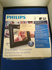 "Philips 8FF2FPB 8"" LCD Digital Picture Photo Frame"