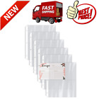 2 Pockets 100 Count Recipe Card Page Protectors 4 x 6 Inch Pockets Refill Sheets