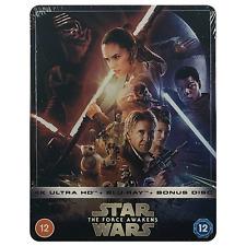 Star Wars - The Force Awakens 4k Ultra HD Blu Ray Steelbook UK Version