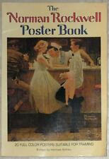 THE NORMAN ROCKWELL POSTER BOOK ~ 20 FULL COLOR POSTERS SUITABLE FOR FRAMING