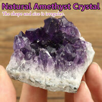 Natural Amethyst Quartz  Druzy Crystal Cluster Healing Specimen Decor Gift