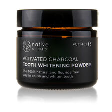 Activated Charcoal Teeth Whitening Powder - 100% Natural & Organic - Made in UK