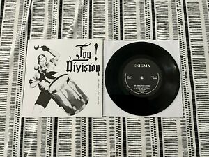 """JOY DIVISION 7"""" & P/S (AN IDEAL FOR LIVING) ON ENIGMA PSS 139 *NR MINT*"""