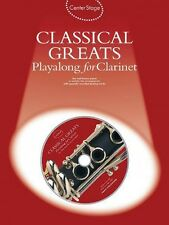 Classical Greats Play-Along Center Stage Series Book and CD NEW 014006336