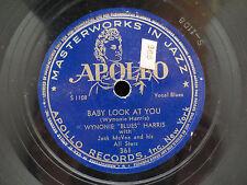 Jack McVea - That's The Stuff You Gotta Watch on Apollo Records 361 78RPM