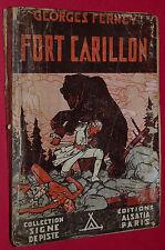 FORT CARILLON GEORGES FERNEY ALSATIA 1945 N°60 SCOUT SIGNE PISTE PIERRE JOUBERT