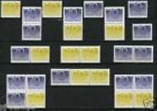 Nederland alle combinaties  uit  postzegelboekje 44  postfris/MNH