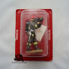 Figurine Collection Del Prado plomb Sapeur Pompier Intervention Tunnel 2003