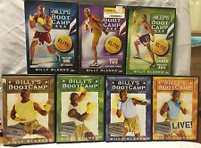 7 Billy's Bootcamp Tae Bo workout exercise fitness DVD set Elite Basic blanks