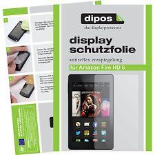2x Amazon fire HD 6 Film de protection d'écran protecteur antireflet
