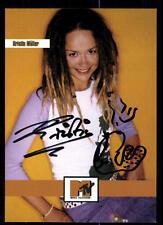 Kristin Möller MTV Autogrammkarte Orignial Signiert # BC 51575