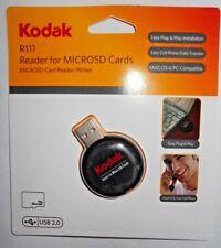 Kodak R-111 Reader Writer Of MicroSD Card Reader 80037-RS USB 2.0 Brand New Kit