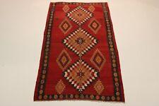 S.Antik Feiner Nomaden Kelim Unikat Perser Teppich Orientteppich 2,92 X 1,60