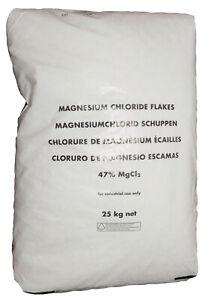 Magnesiumchlorid Frostschutz Staubschutz Reitplatz Reithalle Magnesium 25kg Sack