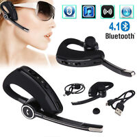 V8S Wireless Bluetooth 4.1 Headset Stereo In Ear Kopfhörer mit Anruf Mikrofon