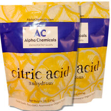 10 Pounds - Non-GMO Project Verified Citric Acid - Organic - 100% Pure