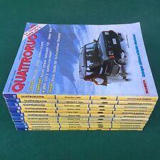 Lotto 11 Riviste/Magazine QUATTRORUOTE ANNATA 1989 LAND ROVER GOLF GTI PORSCHE 4