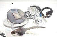 07- 12 SUZUKI Bandit Gsf 1250S  Lock Set Ignition Switch Tank Cap Seat Key