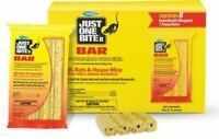 1, 2, 3, 4, 8 pack Just One Bite II Bait Bars Block Rodent Poison Rat Mouse Mice