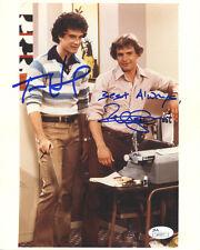 "(SSG) TOM HANKS & PETER SCOLARI Signed 8X10 ""BOSOM BUDDIES"" Photo with a JSA COA"