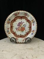Daher Decorated Ware Tin Bowl Decorative Floral Tray