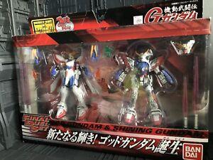 Bandai Mobile Suit God Gundam Is Born Burning Shining Action Figure MSIA Lot