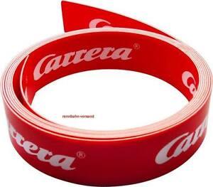 Carrera Leitplankenband, Meterware mit oder ohne Halterungen, 85509
