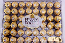 Ferrero Rocher Fine Hazelnuts Milk Wafer Chocolates 21.2 oz. (600g) 48 Pieces