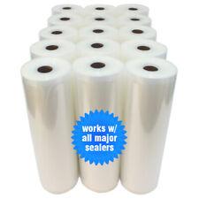 Lemon Tree Foods 11x50 inch Commercial Vacuum Sealer Rolls, Large - 2 Pack