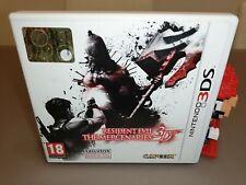 Resident Evil The Mercenaries 3D Nintendo 3DS pal ita like new pari al nuovo