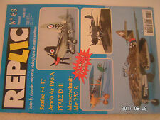 ** Revue Replic n°68 Arado Ar 196 / Seafire FR 47 / Messerschmitt Me 262