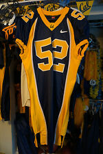 CALIFORNIA GOLDEN BEARS GAME WORN BRANDON MEBANE 2003-06 #52 HOME BLUE JERSEY!