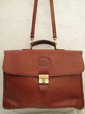 "AUTH  sac CARTABLE A4  XL  ""BL BELFANTI""  vintage TBEG  (avec bandoulière) bag"