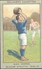 Gallaher - Association Football Club Colours, grey border - 72 - Alex Downie