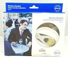 New in Box Nokia Wireless Headset Hdw-2 Blue Tooth .Suggested Retail $199.99