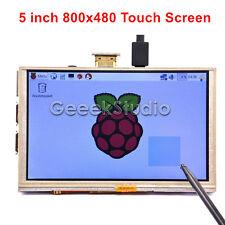 5 Inch 800x480 HDMI TFT LCD Touch Screen for Raspberry PI 3/2 Model B/ B+ /A+ /B