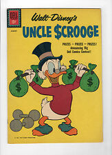 Uncle Scrooge #34 (Jun-Aug 1961, Dell) - Very Good/Fine