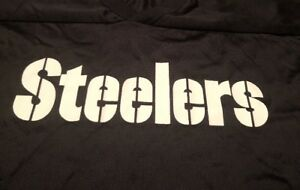 Pittsburgh Steelers NFL Majestic Made In USA 2XL Practice Jersey Vintage 1990's