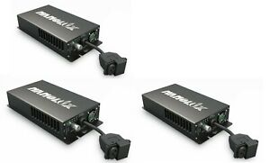 Nanolux OG Series Ballast 600W Lot of 3 120v-240v RF Filter NCCS APP #711