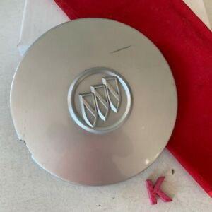 #K 1) 2004 - 2005 Buick LeSabre Century OEM Silver Wheel Center Cap 9594285