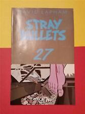 STRAY BULLETS COMIC by DAVID LAPHAM No 27 OCT 2002 * BROKEN - BLOODY FOOT