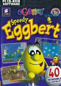 Speedy Eggbert - Classic Retro PC CD-ROM Game - Brand New & Sealed
