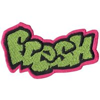 Fresh Graffiti Logo DIY Iron On Embroidered Applique Patch
